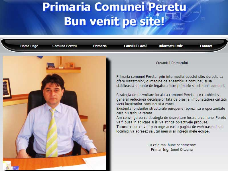 site screen primaria peretu
